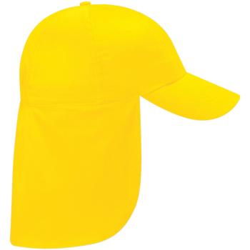 Asusteet / tarvikkeet Lapset Lippalakit Beechfield BC11B Yellow