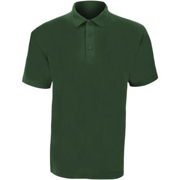vaatteet Miehet Lyhythihainen poolopaita Ultimate Clothing Collection UCC003 Bottle Green