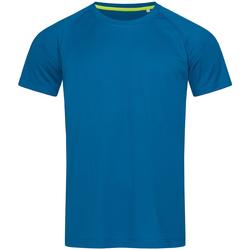 vaatteet Miehet Lyhythihainen t-paita Stedman  Blue