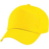Asusteet / tarvikkeet Lapset Lippalakit Beechfield BC10B Yellow