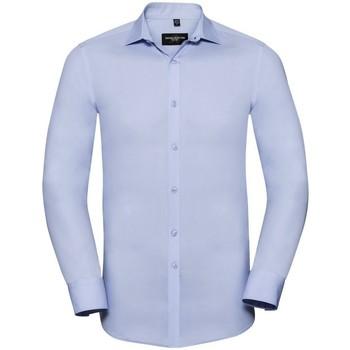 vaatteet Miehet Pitkähihainen paitapusero Russell 960M Bright Sky