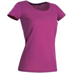 vaatteet Naiset Lyhythihainen t-paita Stedman Stars  Cupcake Pink