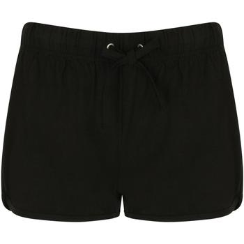 vaatteet Naiset Shortsit / Bermuda-shortsit Skinni Fit SK069 Black/ Black