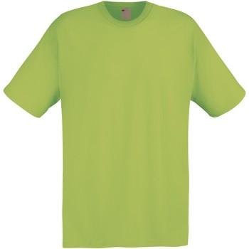 vaatteet Miehet Lyhythihainen t-paita Universal Textiles 61082 Spring Green