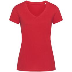vaatteet Naiset Lyhythihainen t-paita Stedman Stars Janet Pepper Red