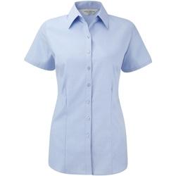 vaatteet Naiset Paitapusero / Kauluspaita Russell 963F Light Blue