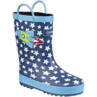 kengät Lapset Kumisaappaat Cotswold Sprinkle Blue Rocket