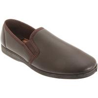 kengät Miehet Tossut Sleepers  Dark Brown