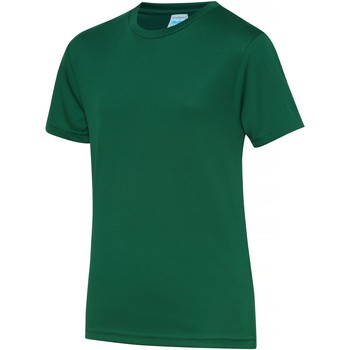 vaatteet Lapset Lyhythihainen t-paita Awdis JC01J Bottle Green