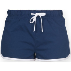 vaatteet Naiset Shortsit / Bermuda-shortsit Skinni Fit SK069 Navy/ White