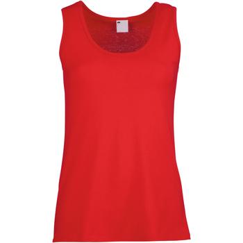 vaatteet Naiset Hihattomat paidat / Hihattomat t-paidat Universal Textiles Fitted Classic Red