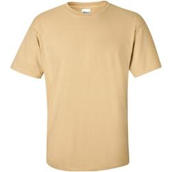 vaatteet Miehet Lyhythihainen t-paita Gildan Ultra Vegas Gold