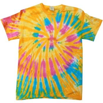 vaatteet Naiset Lyhythihainen t-paita Colortone Rainbow Aurora