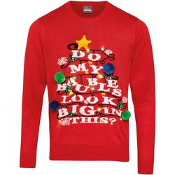 vaatteet Neulepusero Christmas Shop CS036 Red