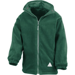 vaatteet Lapset Fleecet Result R160JY Bottle Green/Bottle Green