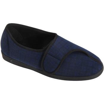 kengät Miehet Tossut Comfylux  Navy Blue