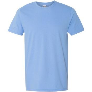 vaatteet Miehet Lyhythihainen t-paita Gildan Soft-Style Carolina Blue
