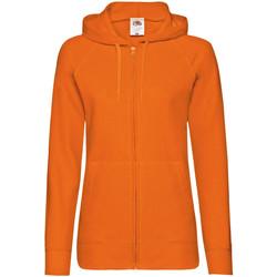 vaatteet Naiset Svetari Fruit Of The Loom 62150 Orange