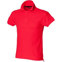 vaatteet Miehet Lyhythihainen poolopaita Skinni Fit SFM47 Bright Red