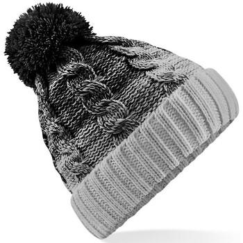 Asusteet / tarvikkeet Pipot Beechfield B459 Black/Light Grey