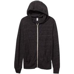 vaatteet Miehet Svetari Alternative Apparel AT002 Eco Black