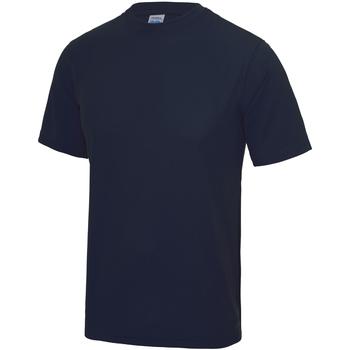 vaatteet Lapset Lyhythihainen t-paita Awdis JC01J French Navy