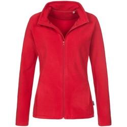 vaatteet Naiset Fleecet Stedman  Scarlet Red