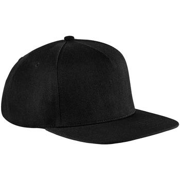 Asusteet / tarvikkeet Lippalakit Beechfield B660 Black/Black