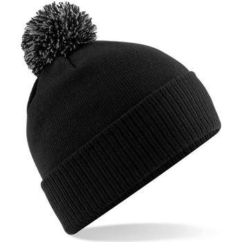 Asusteet / tarvikkeet Tytöt Pipot Beechfield Snowstar Black/Graphite Grey