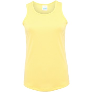 vaatteet Naiset Hihattomat paidat / Hihattomat t-paidat Awdis JC015 Sherbet Lemon