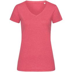 vaatteet Naiset Lyhythihainen t-paita Stedman Stars  Cherry Heather