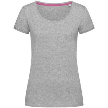 vaatteet Naiset Lyhythihainen t-paita Stedman Stars  Heather Grey
