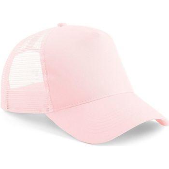 Asusteet / tarvikkeet Lippalakit Beechfield B640 Pastel Pink/ Pastel Pink