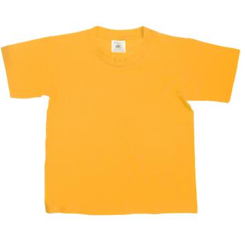 vaatteet Lapset Lyhythihainen t-paita B And C TK300 Gold