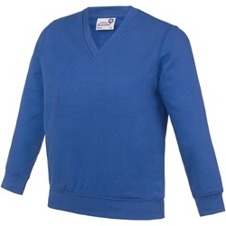 vaatteet Lapset Svetari Awdis AC03J Royal Blue