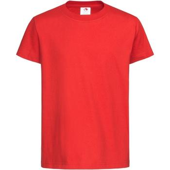 vaatteet Lapset Lyhythihainen t-paita Stedman  Scarlet Red
