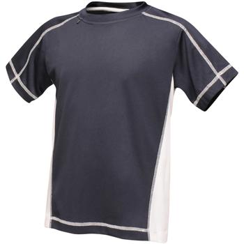 vaatteet Lapset Lyhythihainen t-paita Regatta RA001B Navy/White