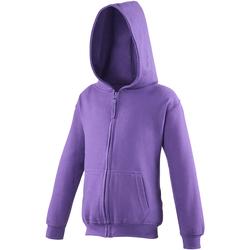 vaatteet Lapset Svetari Awdis JH50J Purple