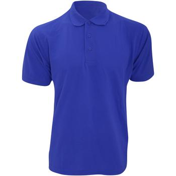 vaatteet Miehet Lyhythihainen poolopaita Kustom Kit KK403 Royal Blue