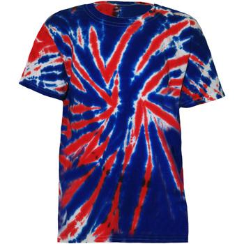 vaatteet Lapset Lyhythihainen t-paita Colortone TD02B Union Jack