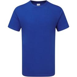 vaatteet Miehet Lyhythihainen t-paita Gildan H000 Sport Royal
