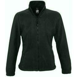 vaatteet Naiset Fleecet Sols 54500 Forest Green