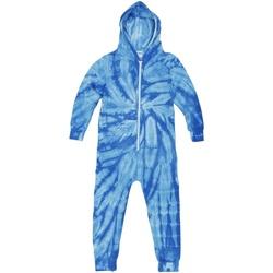 vaatteet Lapset pyjamat / yöpaidat Colortone Die Tye Spider Royal