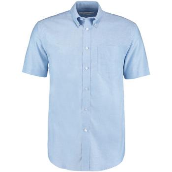 vaatteet Miehet Lyhythihainen paitapusero Kustom Kit KK350 Light Blue