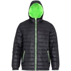 vaatteet Miehet Toppatakki 2786 TS016 Black/Lime