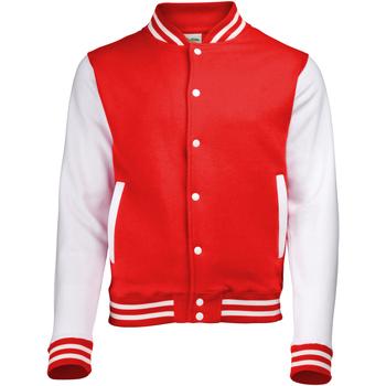 vaatteet Pusakka Awdis JH043 Fire Red / White