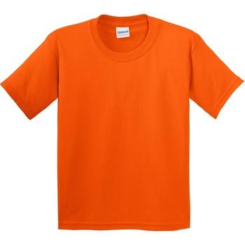 vaatteet Lapset Lyhythihainen t-paita Gildan 5000B Orange