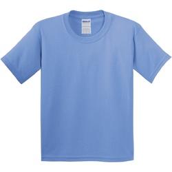 vaatteet Lapset Lyhythihainen t-paita Gildan 5000B Carolina Blue