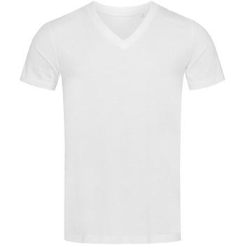 vaatteet Miehet Lyhythihainen t-paita Stedman Stars  White