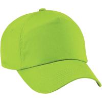 Asusteet / tarvikkeet Tytöt Lippalakit Beechfield B10B Lime Green